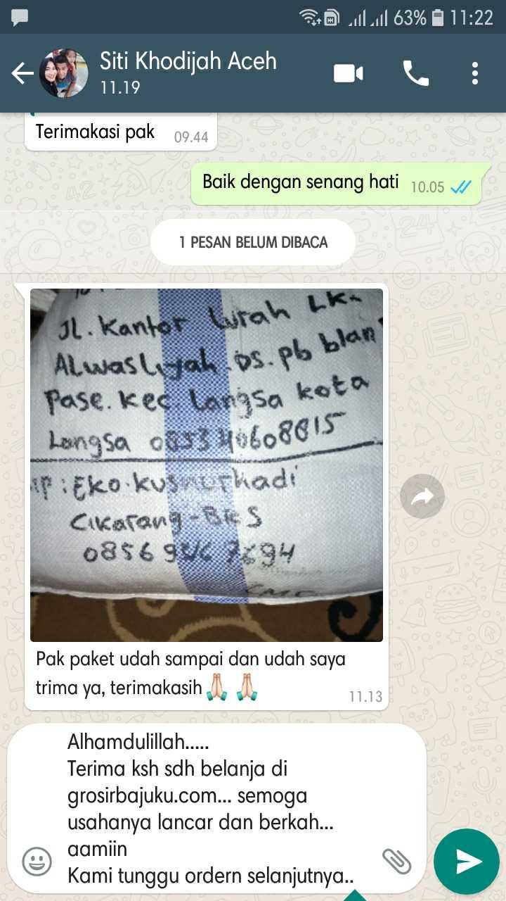 Grosir Daster Katun Bandung Obralan Baju Murah Langsung Dari Pabrik