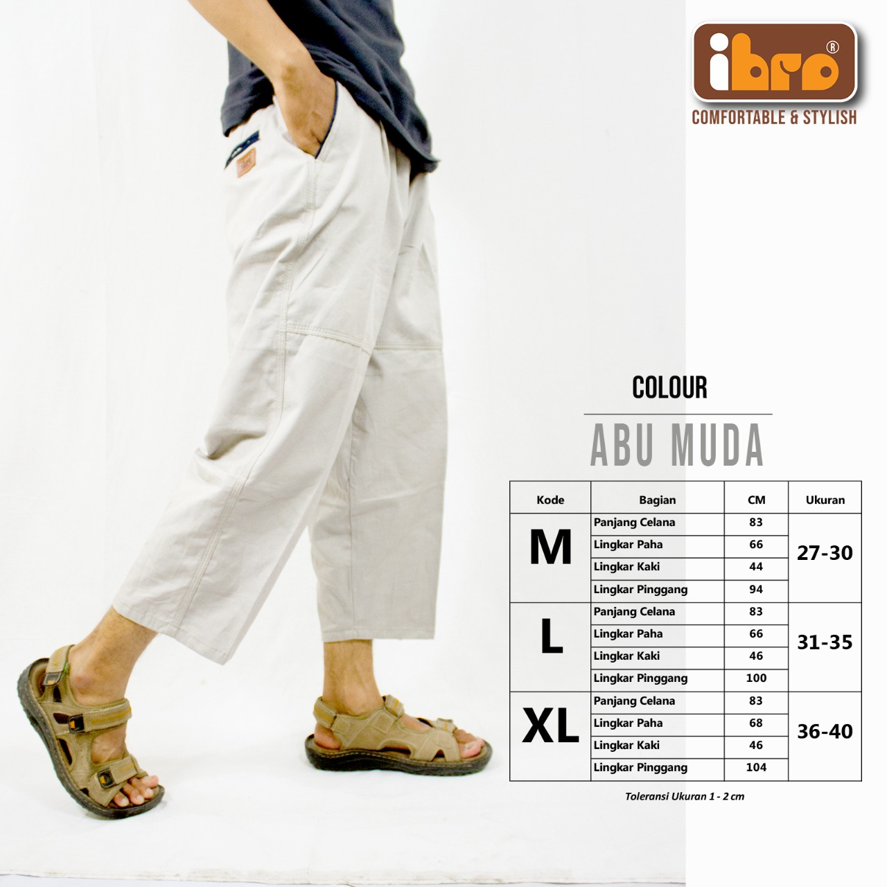 Peluang Usaha Baru di Bandung Modal Minim Grosir Celana Sirwal Premium Ibro Murah