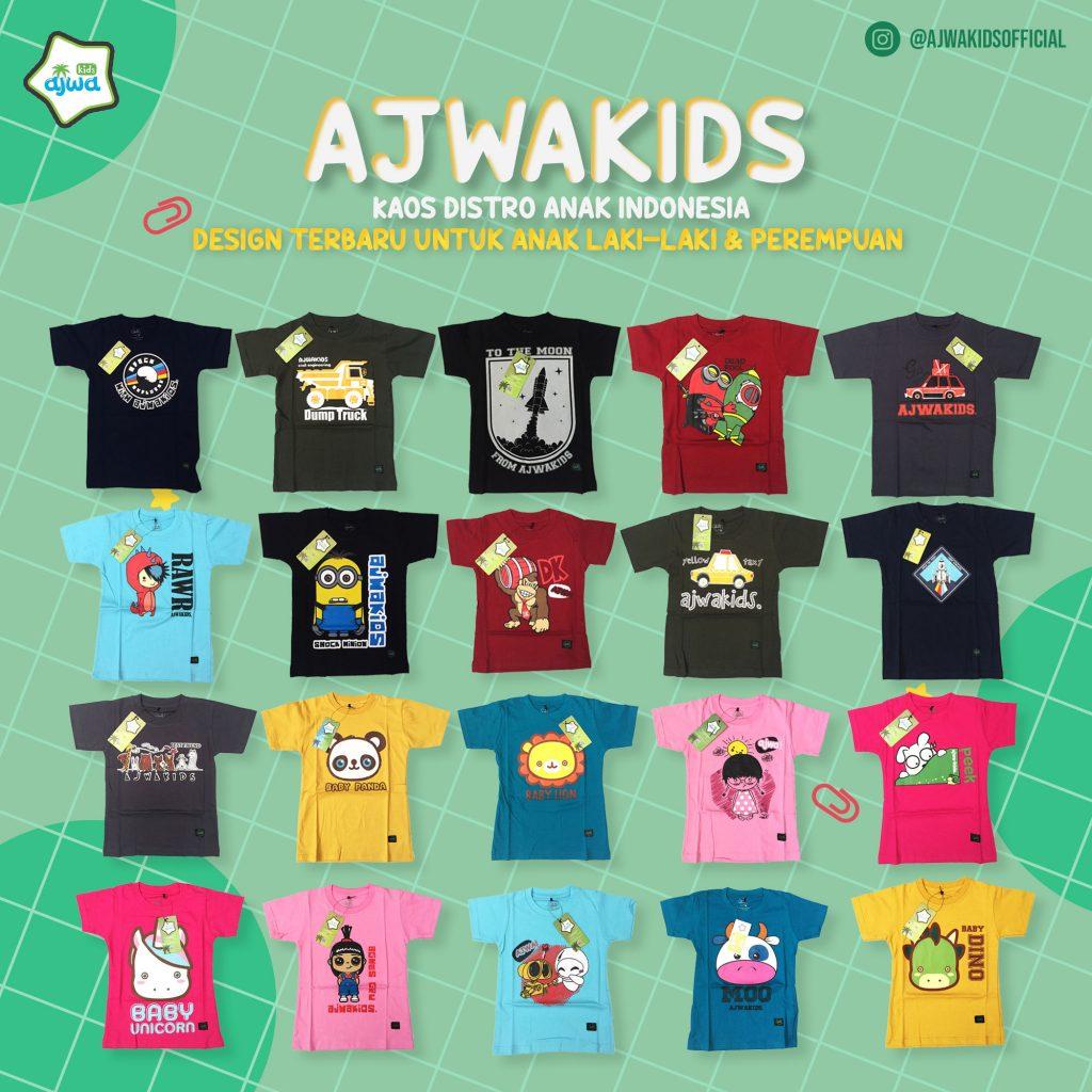 Kaos Distro Anak Ajwa Kids